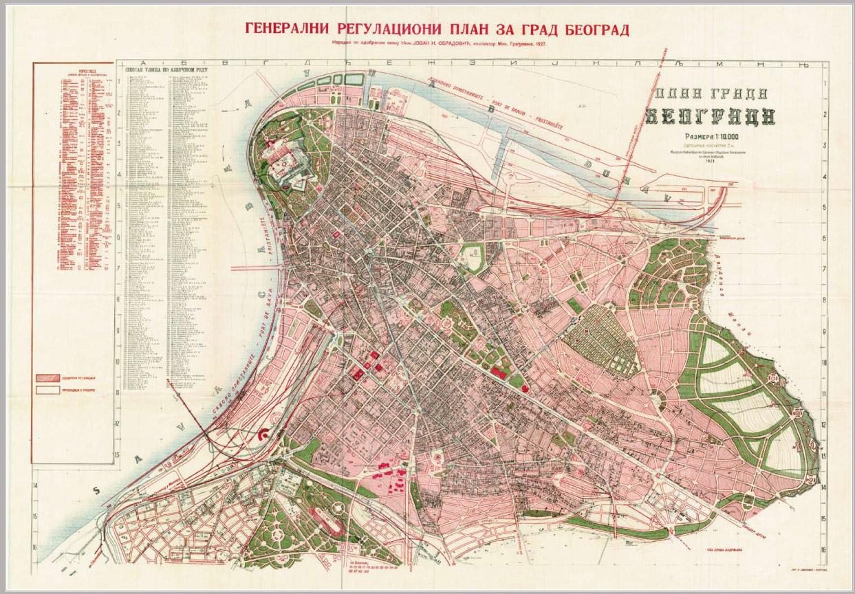 lekino brdo mapa beograda Beograd kroz planove – Urbanistički zavod Beograda lekino brdo mapa beograda