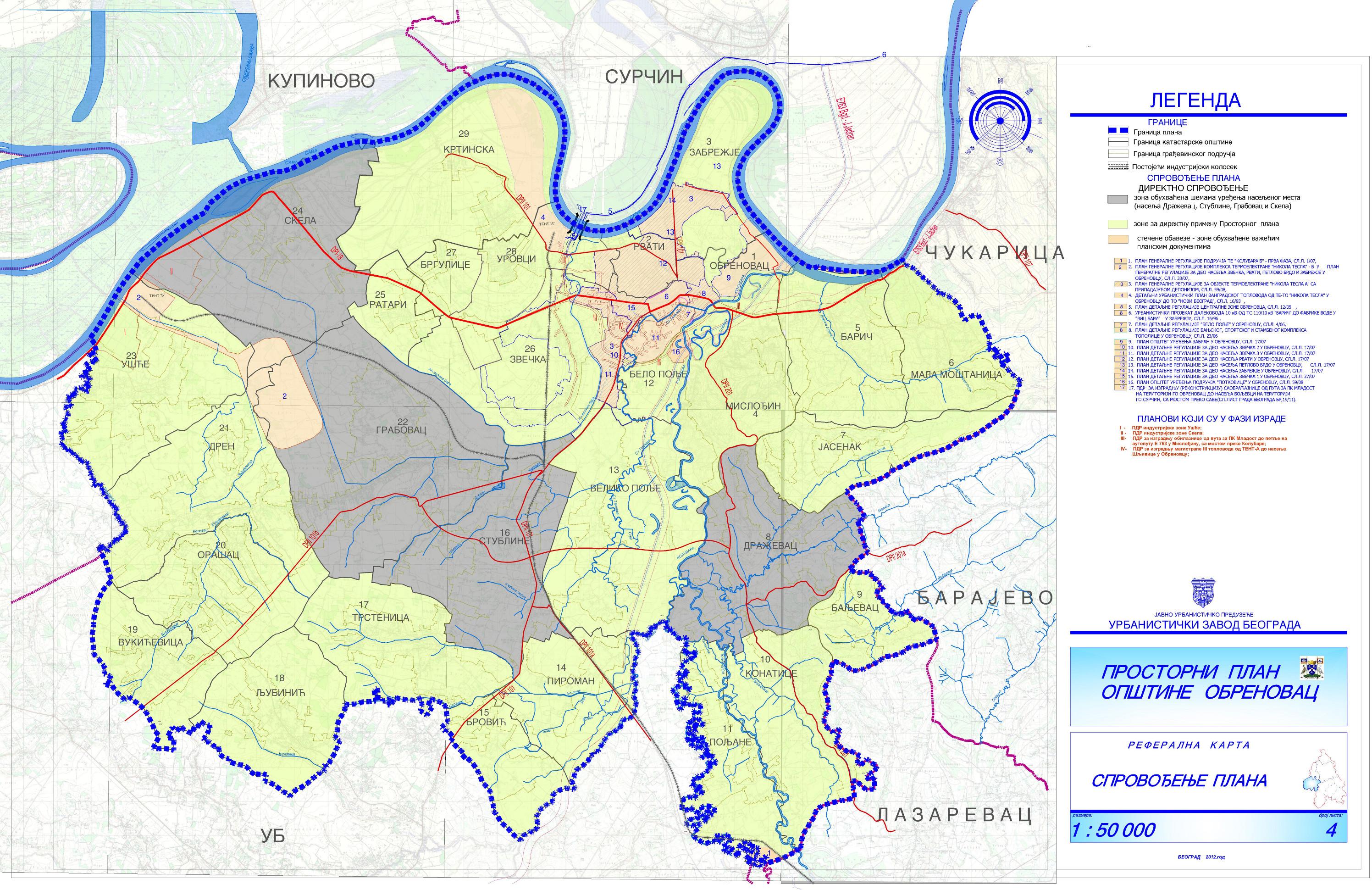 Prostorni Planovi Urbanisticki Zavod Beograda